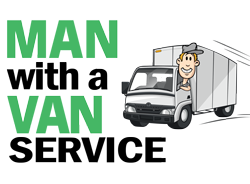 Man with a Van Movers & Freight – Tauranga, Waikato, Auckland & NZ Wide Logo